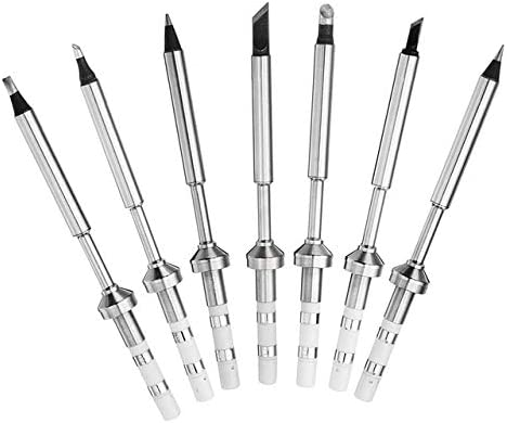 Fevas Replacement Black Chrome Tip Lead Free Solder Tips TS Series Soldering Iron Tip Welding Tip for TS100 Digital LCD Soldering Iron - (Welding Tip Specification: TS-I) - - Amazon.com