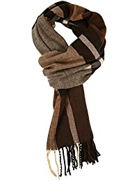 Men's Soft Classic Cashmere Feel Winter Scarf
