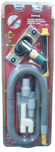 Hyde Tools 09175 Dust-Free Drywall Vacuum Sander with - Dust Drywall