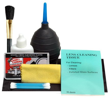 how to clean camera lens with household items