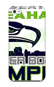 Iphone 5c Hard Back With Bumper Silicone Gel Tpu Case Cover Seattleeahawks (26)