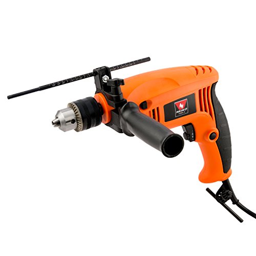 "Neiko 10506A 1/2"" Reversible Hammer Drill, 4.2 Amps 