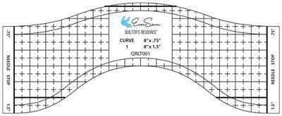 Wave Edge Ruler - 6