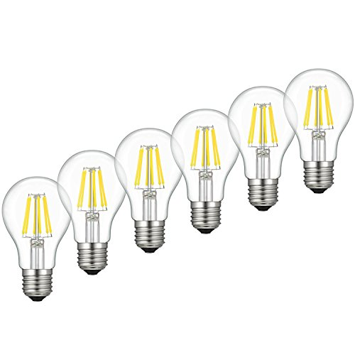 Dimmable Edison Led Bulb Soft Warm White 2700k Kohree 6w