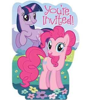 (My Little Pony Friendship Invites [3 Retail Unit(s) Pack] - 495513)