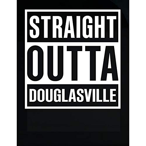 (Inked Creatively Straight Outta Douglasville City)
