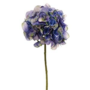 "18.5"" Victorian Hydrangea Spray Helio Delphinium (Pack of 12) 85"