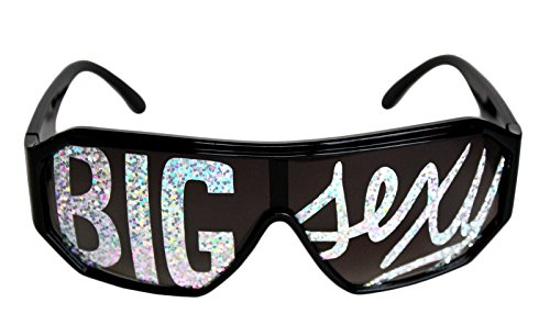 Rasslor Big Sexy Black Frame - Savage Sunglasses