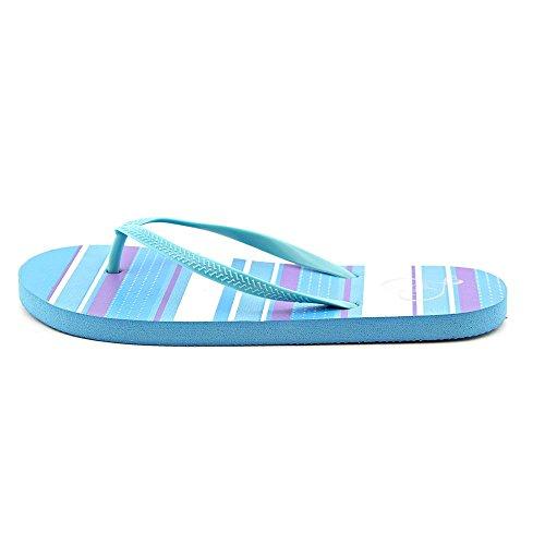 143 Filles Femmes Zada Thong Sandales Bleu Bande