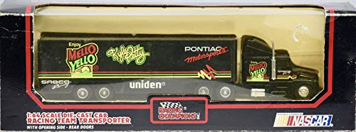 1991 - Racing Champions/NASCAR - Kyle Petty #42 - Mello Yello/Pontiac Motorsports - Die Cast Cab Team Transporter - 1:64 Scale - Collectible
