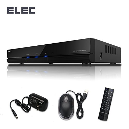 ELEC 4CH Channel Digital Video Recorder 960H HDMI Security Surveillance DVR Record System For Security CCTV Camera, NO Hard Disk … (4 Dvr 320 Channel)