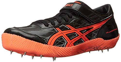Black Jump Coral Asics Track High Silver Shoe Mens Flash Pro gqPW6w