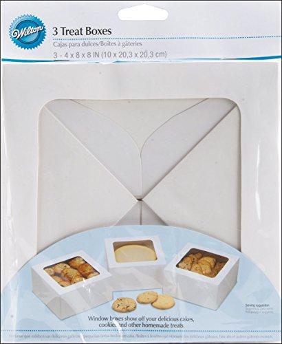 (Wilton Treat Boxes-White 8