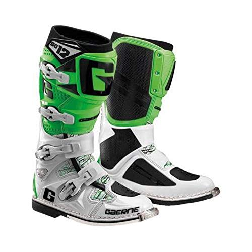 Motorcycle Road Green Boots SG12 Gaerne Off Adult White wqx1Int4p