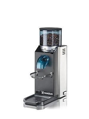 Rancilio HSD-ROC-SS Rocky Espresso Coffee Grinder with Doser Chamber by Rancilio