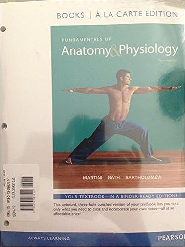 Amazon.com: Fundamentals of Anatomy & Physiology, Books a la Carte ...