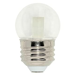 Westinghouse Lighting 4511300 7.5-Watt Equivalent S11 Clear LED Light Bulb with Medium Base, Single Pack