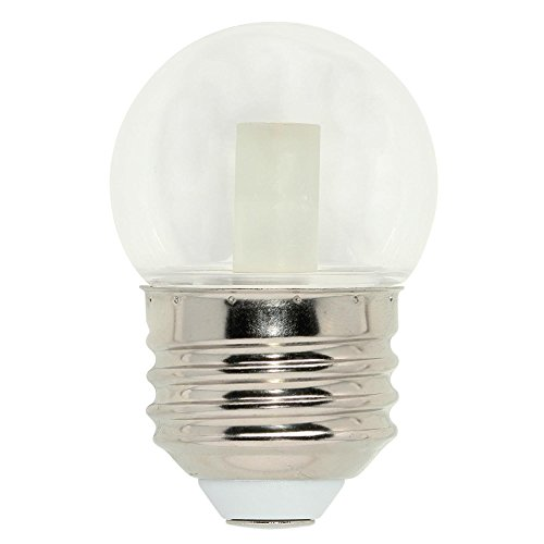 Westinghouse Lighting 4511300 7.5-Watt Equivalent S11 Clear LED Light Bulb with Medium Base, Single Pack