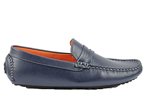 Xposed, Scarpe stringate uomo, Blu (Navy blue), 40 EU