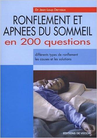 Amazon.fr - Ronflements et apnées du sommeil en 200 ...