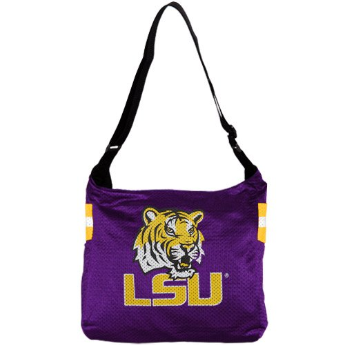 NCAA LSU Tigers Ladies Purple Veteran Jersey Tote Bag (Veteran Jersey Tote Bag)