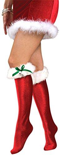 Rubies Womens Santas Socks
