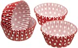 4.5cm Red Polka Dot Pack Of 80 Sweetly Does It Mini Paper Cake Cases