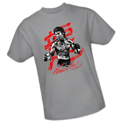 Ink Splatter -- Bruce Lee Youth T-Shirt, Youth Small