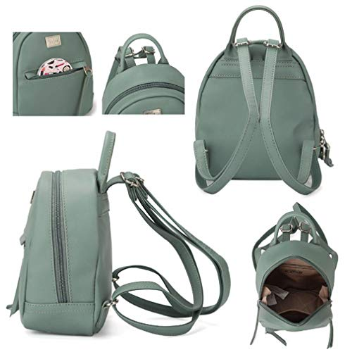 Bags Lady D pink Women Girl Backpacks Shoulder Faux Leather School Bag Female Travel Small Ox4Aw4570q