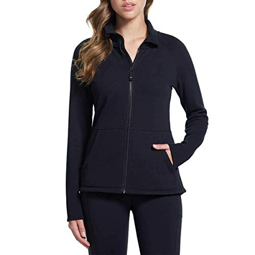 Skechers Performance Ladies' Go Walk Full Zip Fleece (Black, Small)