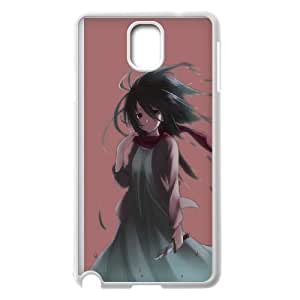 Attack On Titan Samsung Galaxy Note 3 Cell Phone Case White 91INA91491268