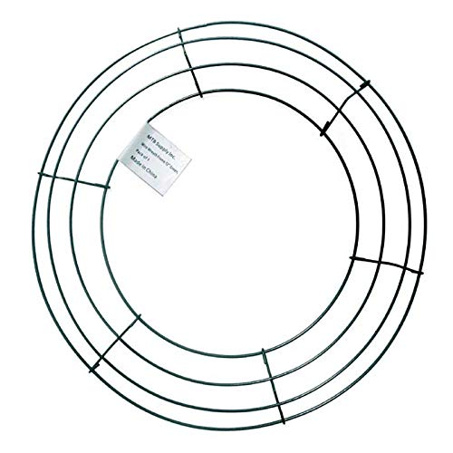 Amazon Com Mtb Wire Wreath Frame 12 Inch Green Pack Of 1 Wreath