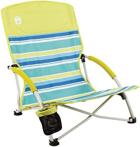 Coleman Camping Chair | Lightweight Utopia Breeze Beach Chair | Outdoor Chair with Low Profile 1