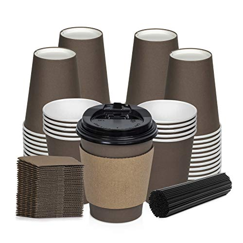 Savourio Coffee Cups Lids Disposable product image