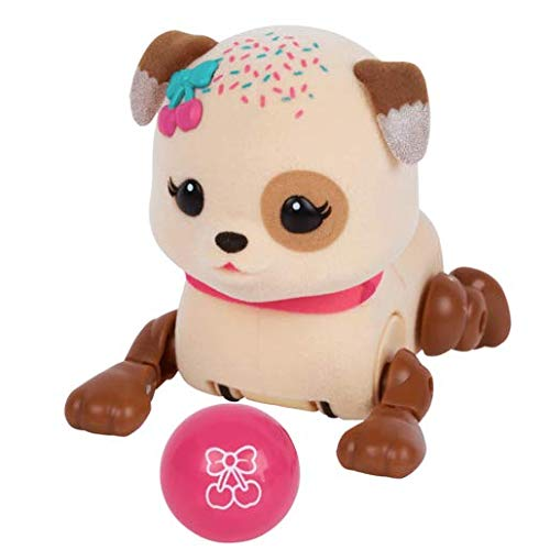 Little Live Pets Lil Cutie Pup Sprinky Figure With Ball