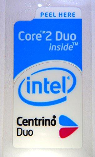Original Intel Core 2 Centrino Duo Combi Sticker 12 x 26mm [368]