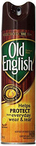 Old English Furniture Polish, Lemon 150 oz (12 Cans x 12.5 oz) (Old Wood Furniture)