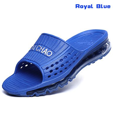 Sandalias de verano zapatos de hombre casual-patinaje sintética en negro / azul / verde / rojo / azul / 1#/2# / Marina Negro