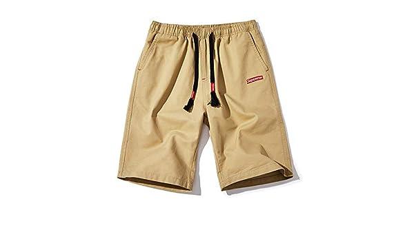 CHLCH Pantalones Cortos de algodón para hombresCinco Pantalones de ...