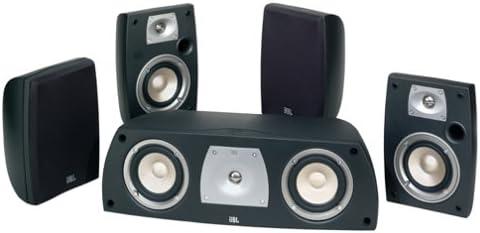 JBL NSP1 II 5-Piece Speaker System Black Ash