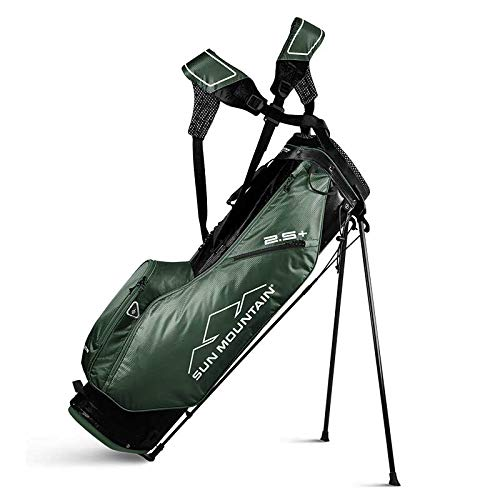 Sun Mountain 2019 2.5+ Stand Bag Green/Black