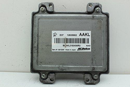 Ecu Ecm Engine Computer - 07-12 Pontiac G6 12612397 Computer Brain Engine Control ECU ECM EBX Module