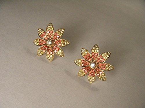 Yellow Gold Estate Earrings - 2