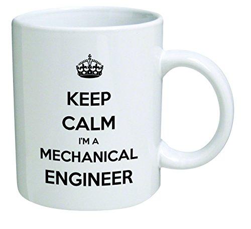 Funny Mug - Keep Calm I'm A Mechanical Engineer - 11 OZ Coffee Mugs - Inspirational gifts and sarcasm - By A Mug To Keep TM