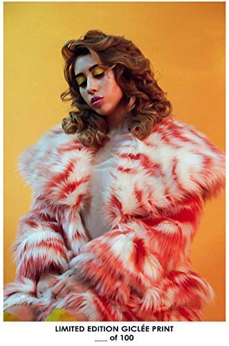By King Of Wonder Poster Kali UCHIS Reprint 12x18 inch Rolled