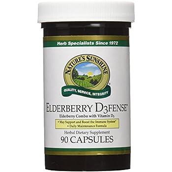 Nature S Sunshine Elderberry Immune