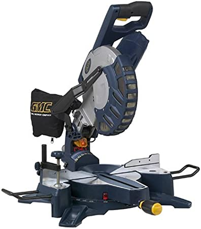 Gmc Adb10cms 15 Amp 10 Inch Dual Bevel Compound Miter Saw With Laser Power Miter Saws Amazon Com