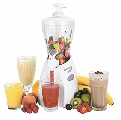 Kenwood Smoothie Blender SB100 1.0 L Batidora de vaso 1L Plata, Color blanco - Licuadora