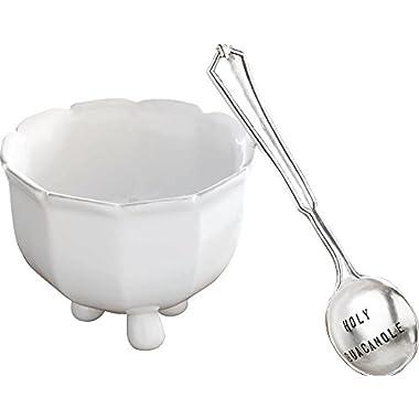Mud Pie Guacamole Set, White