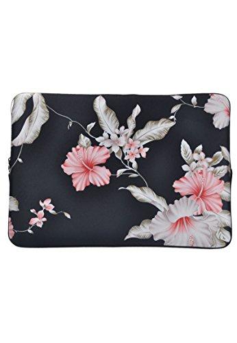 Laptophülle mit Blume Blumen 11,6 zoll / Laptoptasche/ Notebooktasche/ Laptophülle/ Laptop Schutzhülle/ Notebook Tasche/ Laptop Sleeve